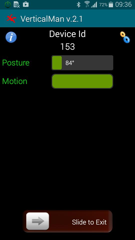VerticalMan - Correct position