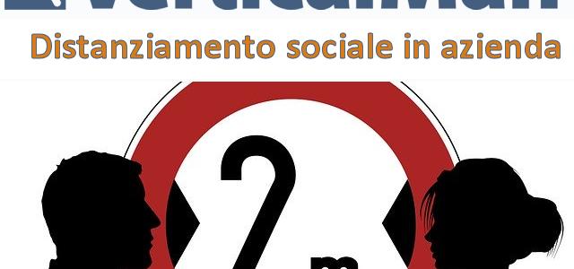 VerticalMan ed il distanziamento sociale